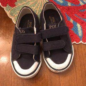 Ralph Lauren Boys Tennis Shoes Size 8